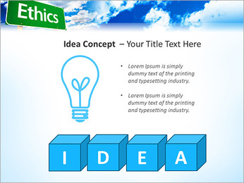 Ethics PowerPoint Template - Slide 60