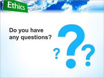 Ethics PowerPoint Template - Slide 75