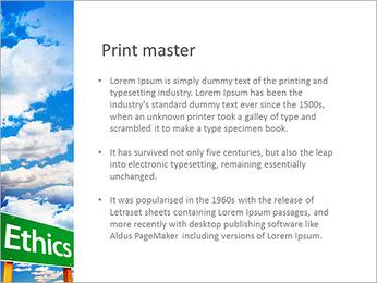 Ethics PowerPoint Template - Slide 76