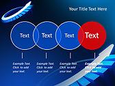 Blue Light Arrow Animated PowerPoint Template - Slide 10