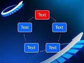 Blue Light Arrow Animated PowerPoint Template - Slide 13