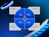 Blue Light Arrow Animated PowerPoint Template - Slide 14