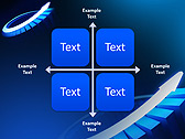 Blue Light Arrow Animated PowerPoint Template - Slide 15