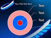 Blue Light Arrow Animated PowerPoint Template - Slide 17