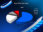 Blue Light Arrow Animated PowerPoint Template - Slide 18