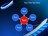 Blue Light Arrow Animated PowerPoint Template - Slide 21