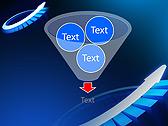 Blue Light Arrow Animated PowerPoint Templates - Slide 24