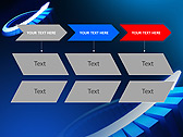 Blue Light Arrow Animated PowerPoint Template - Slide 25