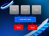 Blue Light Arrow Animated PowerPoint Templates - Slide 27