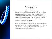 Blue Light Arrow Animated PowerPoint Template - Slide 35
