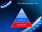 Blue Light Arrow Animated PowerPoint Template - Slide 4