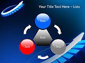 Blue Light Arrow Animated PowerPoint Template - Slide 5