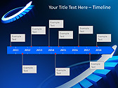 Blue Light Arrow Animated PowerPoint Templates - Slide 6