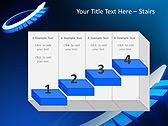Blue Light Arrow Animated PowerPoint Template - Slide 7