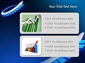 Blue Light Arrow Animated PowerPoint Template - Slide 9