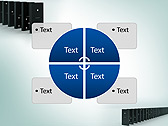 Domino Set Animated PowerPoint Template - Slide 14
