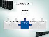 Domino Set Animated PowerPoint Template - Slide 19