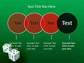 Two Playing Dies Animated PowerPoint Template - Slide 10