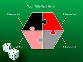 Two Playing Dies Animated PowerPoint Template - Slide 11