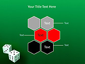Two Playing Dies Animated PowerPoint Template - Slide 12