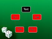 Two Playing Dies Animated PowerPoint Template - Slide 13