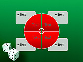 Two Playing Dies Animated PowerPoint Template - Slide 14