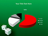 Two Playing Dies Animated PowerPoint Template - Slide 18