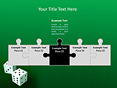 Two Playing Dies Animated PowerPoint Template - Slide 19