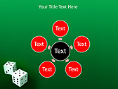 Two Playing Dies Animated PowerPoint Template - Slide 21