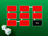 Two Playing Dies Animated PowerPoint Template - Slide 26