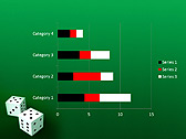 Two Playing Dies Animated PowerPoint Template - Slide 30