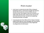 Two Playing Dies Animated PowerPoint Template - Slide 35