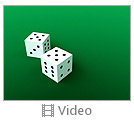 Two Playing Dies Video