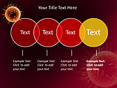 Orange Microorganism Animated PowerPoint Templates - Slide 10