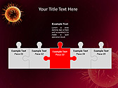 Orange Microorganism Animated PowerPoint Template - Slide 19