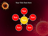 Orange Microorganism Animated PowerPoint Templates - Slide 21