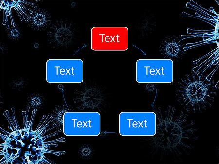 Blue microorganism animated powerpoint template design id blue microorganism animated powerpoint template slide 13 toneelgroepblik Gallery