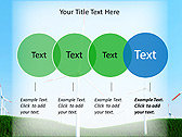 Windmills In The Field Animated PowerPoint Template - Slide 10