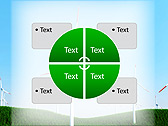 Windmills In The Field Animated PowerPoint Template - Slide 14