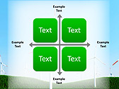 Windmills In The Field Animated PowerPoint Template - Slide 15
