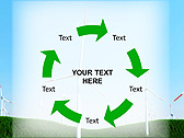 Windmills In The Field Animated PowerPoint Template - Slide 20