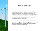 Windmills In The Field Animated PowerPoint Template - Slide 35
