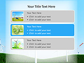 Windmills In The Field Animated PowerPoint Template - Slide 8