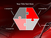 Red DNA Animated PowerPoint Template - Slide 11