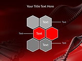 Red DNA Animated PowerPoint Template - Slide 12