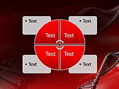 Red DNA Animated PowerPoint Template - Slide 14