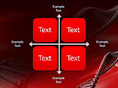 Red DNA Animated PowerPoint Template - Slide 15