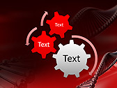 Red DNA Animated PowerPoint Template - Slide 16