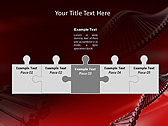 Red DNA Animated PowerPoint Template - Slide 19