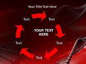 Red DNA Animated PowerPoint Template - Slide 20